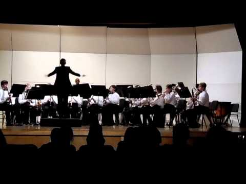 Bradford Middle School EOY Concert (2015) - Concert Band - Adagio for Winds
