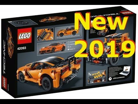 new 2019 lego technic chevrolet corvette zr1 youtube. Black Bedroom Furniture Sets. Home Design Ideas