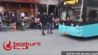 Şişlide hdp sürüsüne silah çeken sivil Bozkurt...