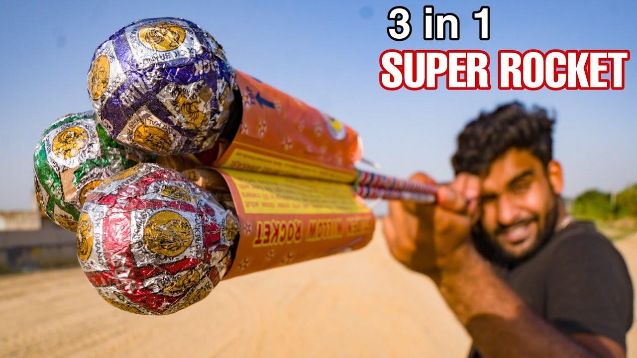 3 ROCKET POWER IN 1 SUPER ROCKET
