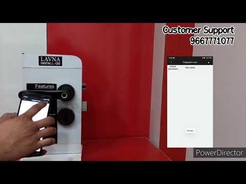 LAVNA | Digital Locks, Operational video of L-A16