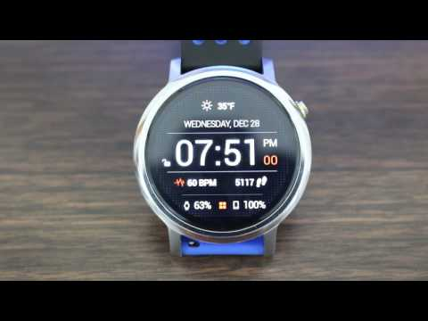 Top Android Wear Watch Faces 2017
