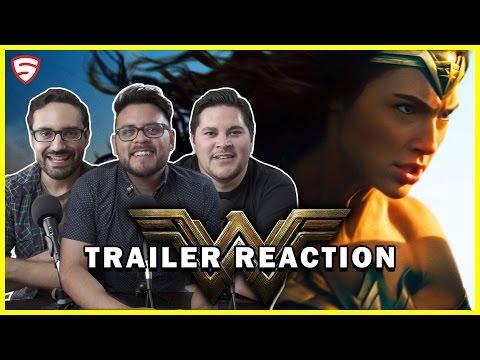 Wonder Woman   Official Trailer Reaction