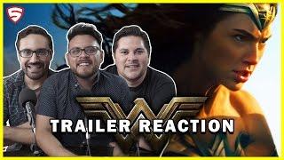 Wonder Woman | Official Trailer Reaction