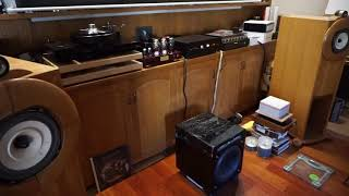 3_ Hashimoto output trans and choke on Bowei 2A3 amp