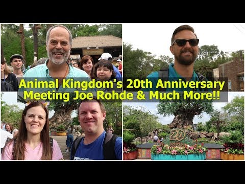Magical Mondays #43 | Animal Kingdom's 20th Anniversary, Meeting Joe Rohde, & Much More!!