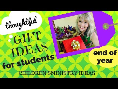 Thoughtful GIFT IDEAS for STUDENTS *Christmas, Easter & End of year*