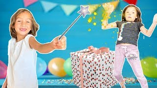 CORA finds a MAGIC Wand & SAVES her birthday party!