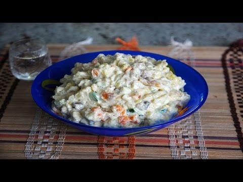 Салат с Копчёной Скумбрией. Выпуск №171
