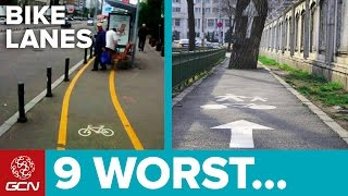 9 Worst Bike Lanes