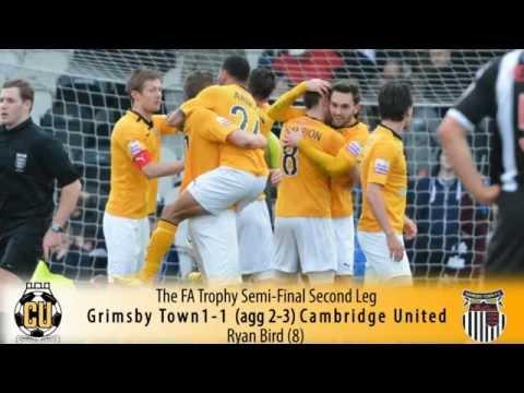 2014 FA Trophy Winners - Cambridge United F.C.