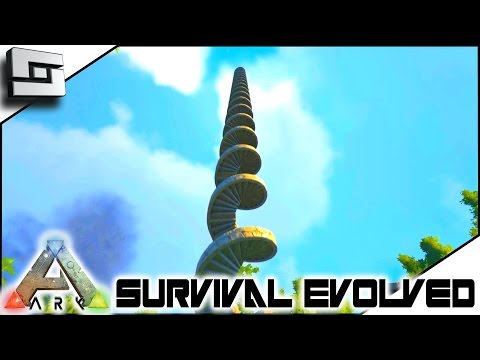 ARK: Survival Evolved - GRINDER AND STAIRS! S4E48 ( The Center Map Gameplay )