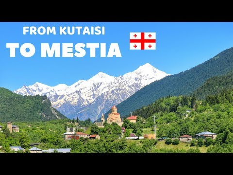 Travelling From Kutaisi To Mestia By Bus - Georgia Europe