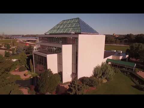 DJI P3P Video 136   P O I  Quad Cities Botanical Center