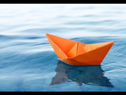 How To Make A Paper Boatvery Easy Origami Boat Youtube