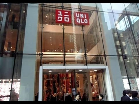 UNIQLO FLAGSHIP STORE TOUR, FIFTH AVENUE, NEW YORK CITY - JAPANESE SHOPPING IN NYC!