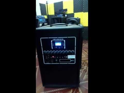 Video test Loa kéo di động SHUPO BT 47