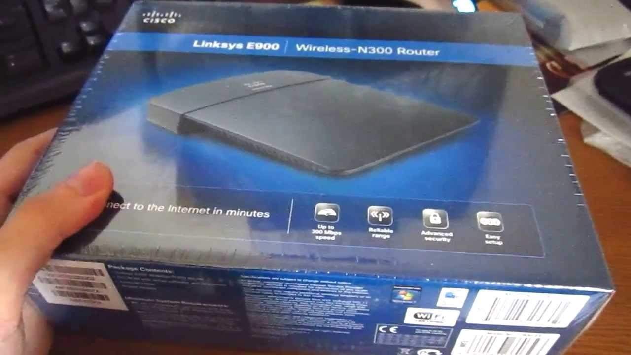 CISCO LINKSYS E900 ROUTER DRIVERS UPDATE