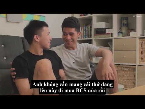 [Vietsub] [Gay couple] Quan hệ an toàn (Safe Sex with PrEP) 【男男戀愛日常 】#2