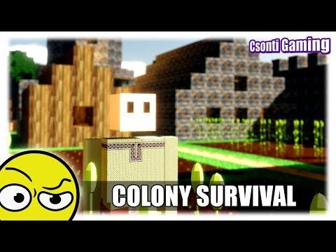 COLONY SURVIVAL | Ez nem Minecraft (Első látásra)