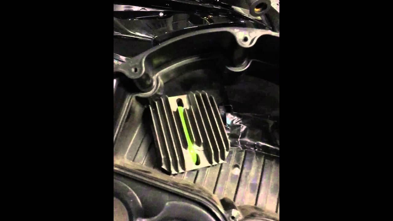 Suzuki Gsxr Rectifier Problem Fixed Youtube 06 Regulator Wiring Diagram