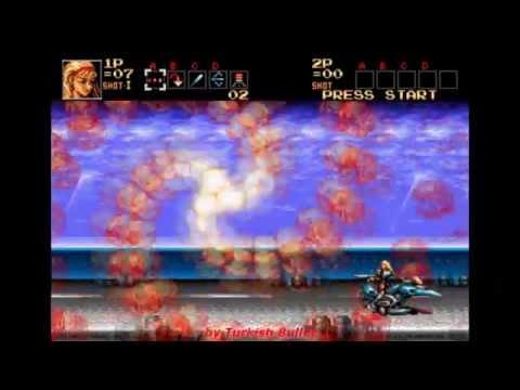 Contra: Hard Corps (Sega Genesis) - (Longplay - Sheena Etranzi)