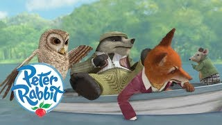 Peter Rabbit - Mr Tod, Tommy Brock and Old Brown Join Forces   Cartoons for Kids