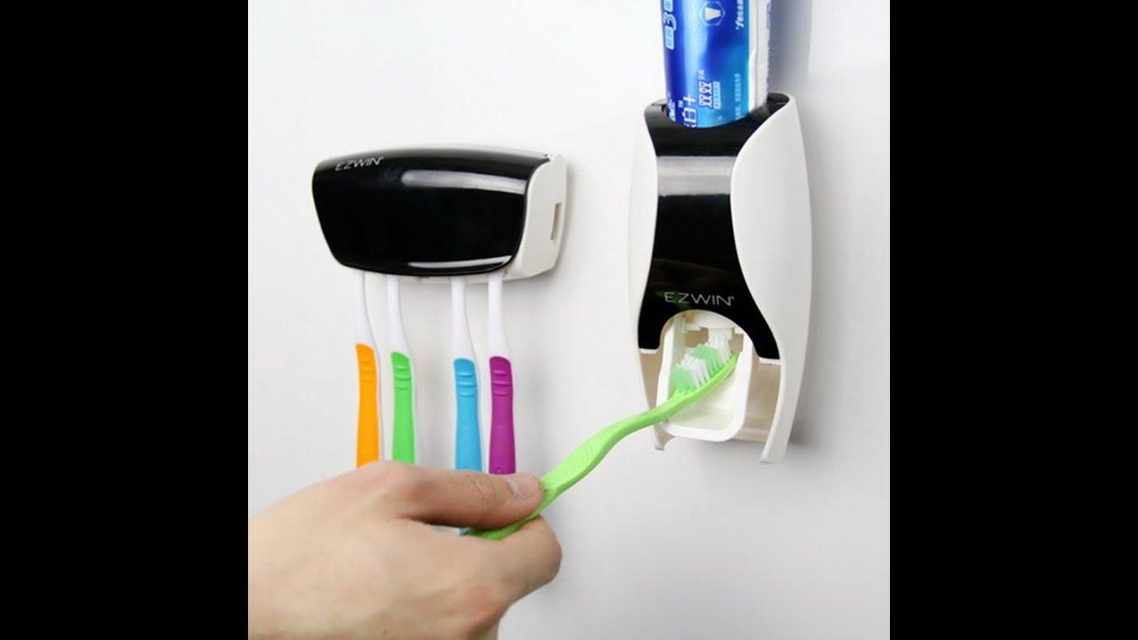 Автоматический дозатор зубной пасты за 3.77$.Алиэкспресс - YouTube