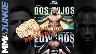 UFC on ESPN 4 fight breakdown: Rafael Dos Anjos vs. Leon Edwards