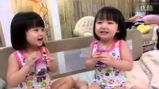 スーパー孟!双子の赤ちゃん学習広東語 http://www.chenglijie.com ライ...