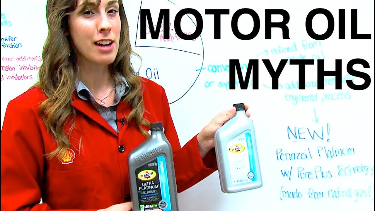 Motor Oil Myths & FAQs - Synthetic vs Conventional