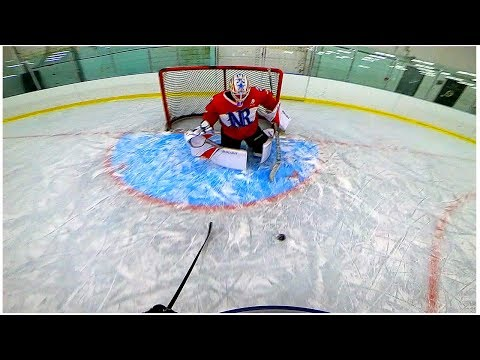 PAVEL BARBER VS. KANE VAN GATE | 3 on 3 GoPro Hockey