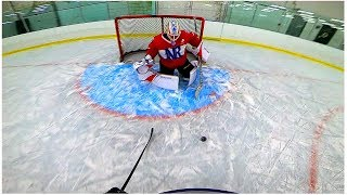 PAVEL BARBER VS. KANE VAN GATE | 3 on 3 GoPro Hockey