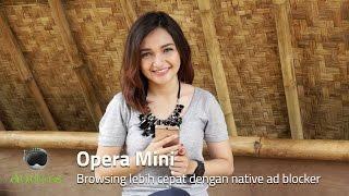 Download Opera Mini - Browsing lebih cepat dengan native ad blocker