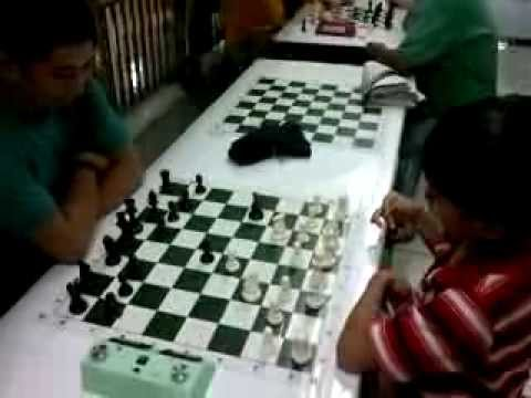 Playing with the Chess Masters of Guadalupe MRT station