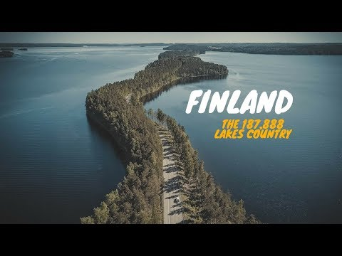 Finland: The 187,888 lakes country