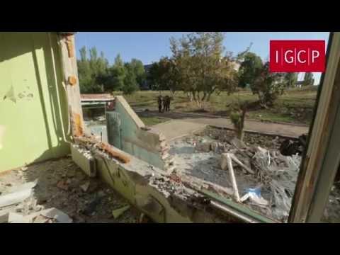 IGCP. Разрушения в Первомайске (29 сентября 2014 г.) 18+