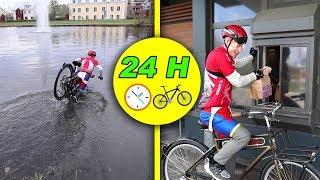 24 H PÅ EN CYKEL
