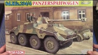 Dragon 1/35 Sd.Kfz.234/4 Panzerspahwagen # 6772 www.eModels.co.uk