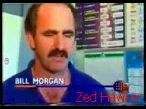 Bill Morgan - $250000 winner via scratch card while filming in australia
