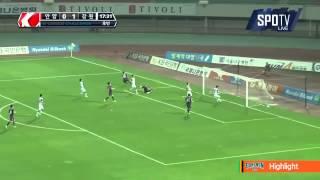 2015 K리그 챌린지 19R 강원FC vs FC안양 하이라이트