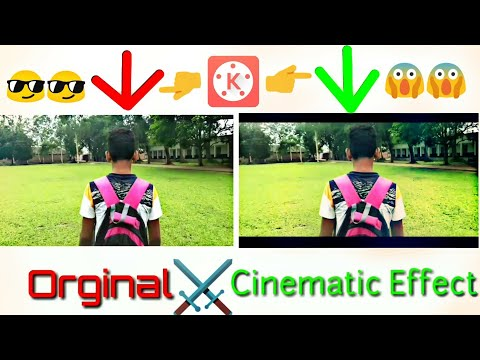 How to shoot Cinematic video without DSLR | Kinemaster | Bangla Tutorial