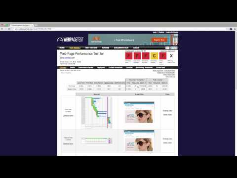 Website Performance Optimization - Benchmarking