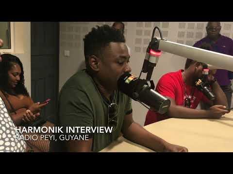 HARMONIK INTERVEW A ''RADIO PEYI'' EN GUYANE 14 OCTOBRE 2017