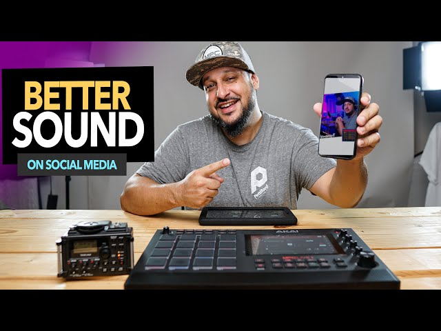 MPC One / Live Beatmaking 3 Ways For Better Audio on Social