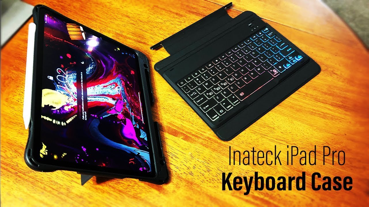 reputable site af4eb caf4d 2018 iPad Pro Detachable Keyboard Case from Inateck