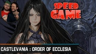 Speed Game - Castlevania : Order of Ecclesia - TAS - Fini en 34