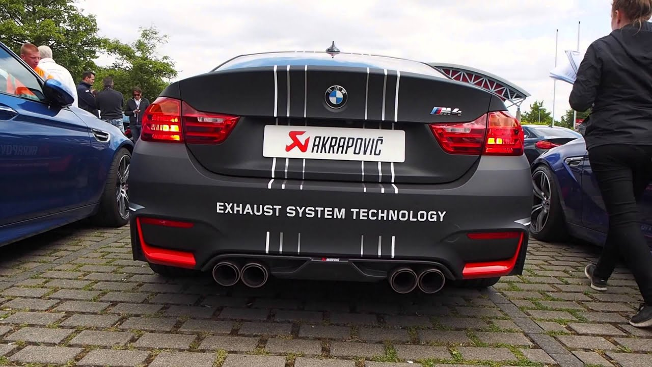 akrapovic exhaust bmw m4 coupe amazing sound youtube. Black Bedroom Furniture Sets. Home Design Ideas