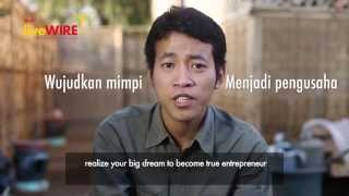 Shell LiveWIRE Indonesia: Business Start-up Awards 2014 Finalist, Agatha Pratama Agro Tekno Jamuran