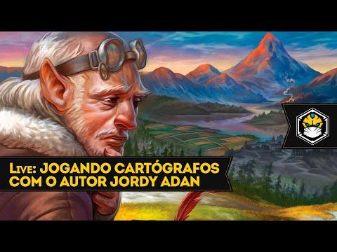 Live: Jogando Cartógrafos Com O Autor Jordy Adan